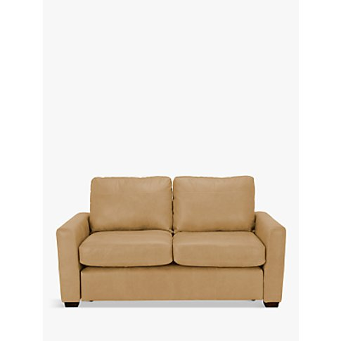 House By John Lewis Oliver Small 2 Seater Leather So...
