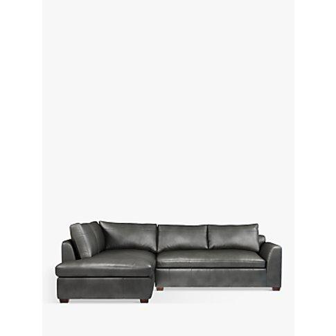 John Lewis & Partners Tortona Lhf Chaise End Leather...