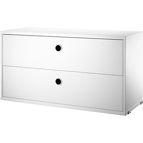 string 2 Drawer Chest Section