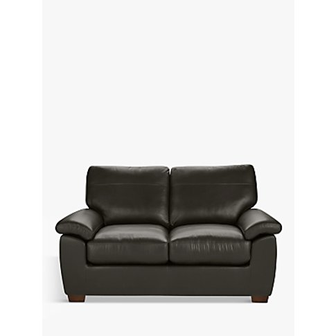 John Lewis & Partners Camden Small 2 Seater Leather ...