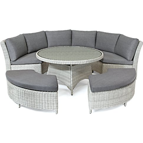 Kettler Palma 8 Seater Round Garden Dining Table And...