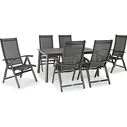 Kettler Surf 6 Seater Garden Dining Table And Reclin...