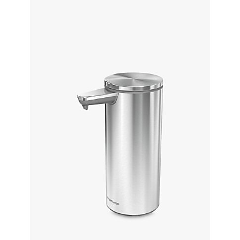 simplehuman Sensor Stainless Steel Soap Pump