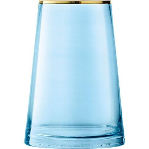 Lsa International Sorbet Vase, Spearmint, H26cm