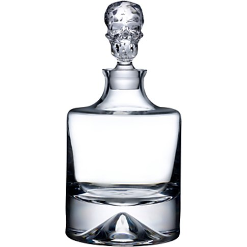 Nude Shade Whisky Carafe, Clear