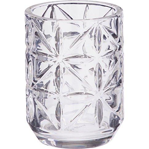 John Lewis & Partners Isabella Glass Bathroom Tumbler