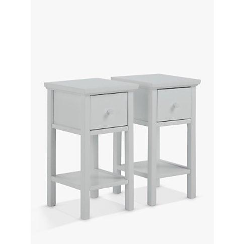 John Lewis & Partners Wilton Set Of 2 Bedside Tables