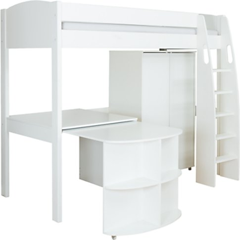 Stompa Uno S Plus High-Sleeper Bed with Wardrobe and...