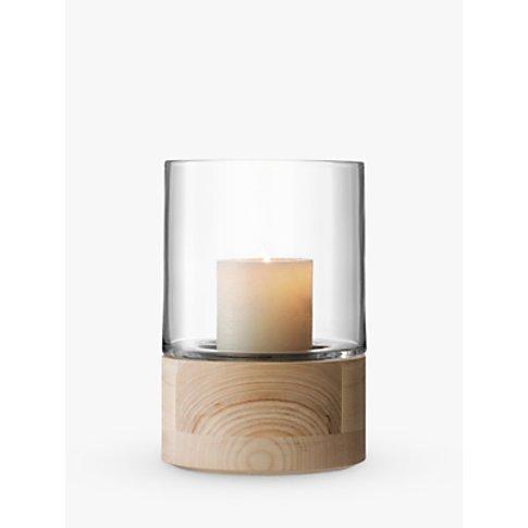 Lsa International Lotta Lantern & Ash Base Candle Ho...