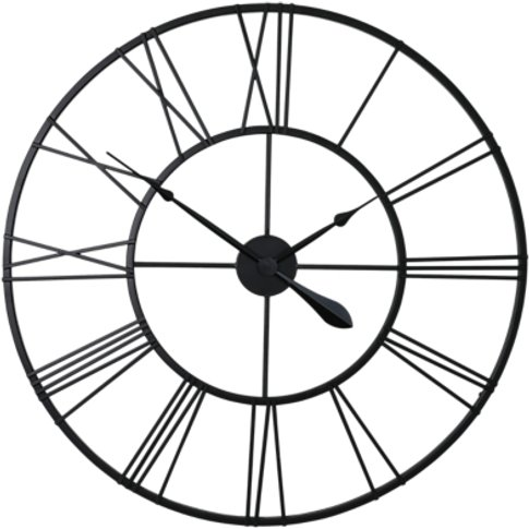 London Clock Company Skeleton Wire Wall Clock, Dia.8...