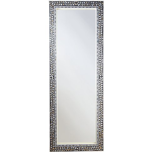 John Lewis & Partners Mother Of Pearl Frame Mirror, ...