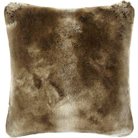 John Lewis & Partners Faux Fur Cushion