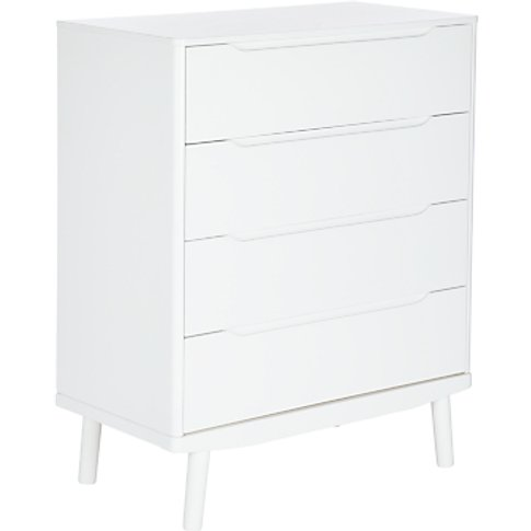 House By John Lewis Bow 4 Drawer Chest