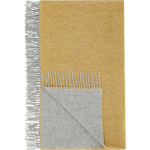 John Lewis & Partners Wool Rich Scandi Reversible Th...