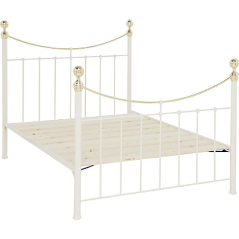 Wrought Iron And Brass Bed Co. Victoria Bed Frame, D...