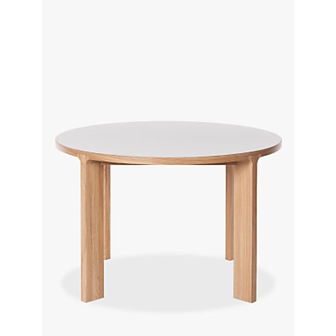 Another Brand Lastra 6 Seater Round Dining Table, Mu...