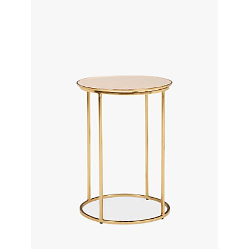 John Lewis & Partners Melena Small Side Table, Cream