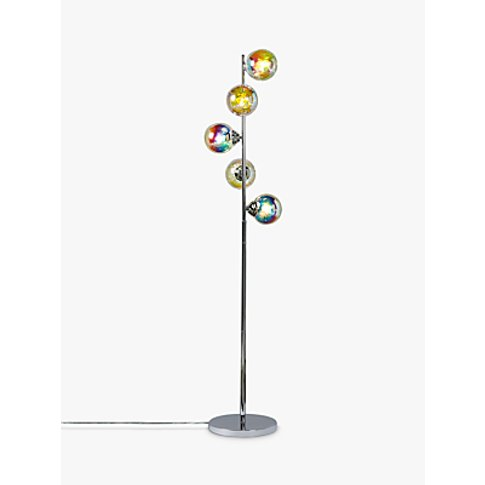John Lewis & Partners Jester Iridescent 5 Light Floor Lamp, Multi