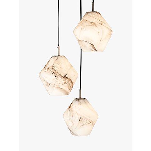 John Lewis & Partners Ada 3 Pendant Ceiling Light, W...