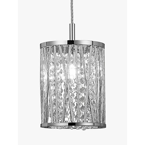 John Lewis & Partners Emilia Small Ceiling Light, Ch...