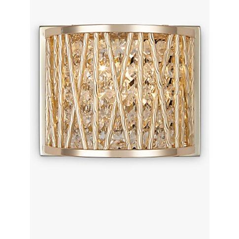 John Lewis & Partners Emilia Jazzy Wall Light, Gold