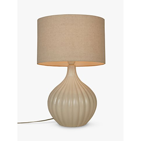 John Lewis & Partners Betsy Ceramic Table Lamp, Cream
