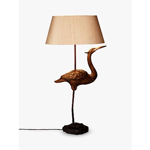 David Hunt Heron Table Lamp, Brass