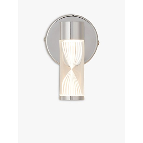 John Lewis & Partners Oslo LED Bathroom Wall Light, ...