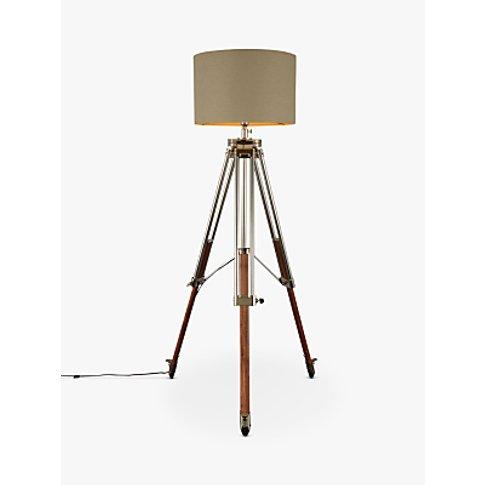 John Lewis & Partners Tommy Large Tripod Floor Lamp,...