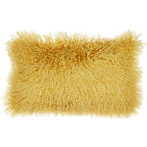 John Lewis & Partners Mongolian Fur Cushion