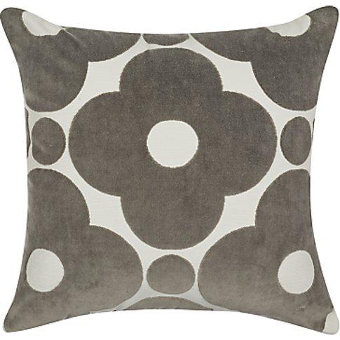 Orla Kiely Velvet Spot Flower Cushion
