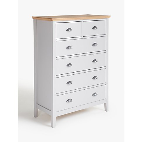 John Lewis & Partners Albany 6 Drawer Chest