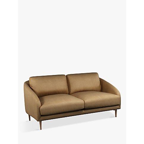 John Lewis & Partners Cape Medium 2 Seater Leather S...
