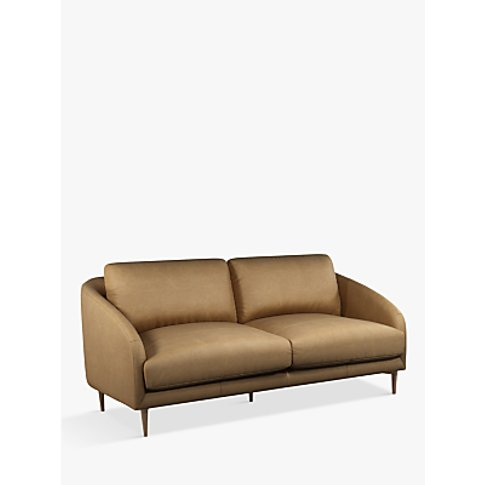 John Lewis & Partners Cape Large 3 Seater Leather So...