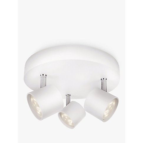 Philips Star LED Triple Spotlight, White