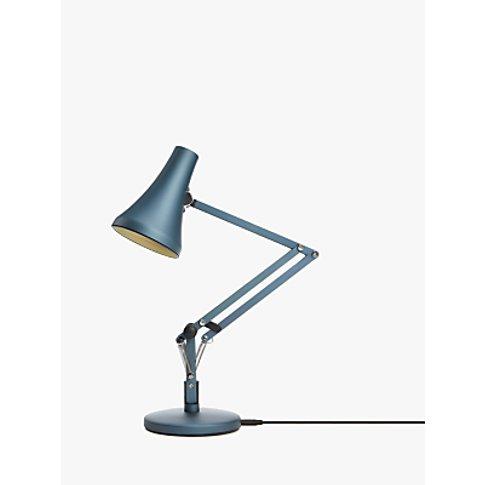 Anglepoise 90 Mini Mini LED Desk Lamp, Blue