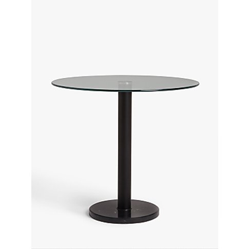 House By John Lewis Enzo 2 Seater Glass Round Dining...