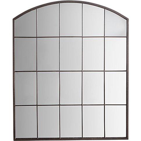 Manon Arched Mirror, 91 X 76cm, Metallic