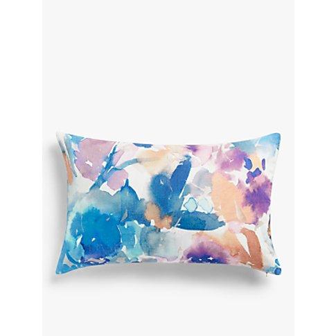 John Lewis & Partners Amaryllis Cushion, Multi