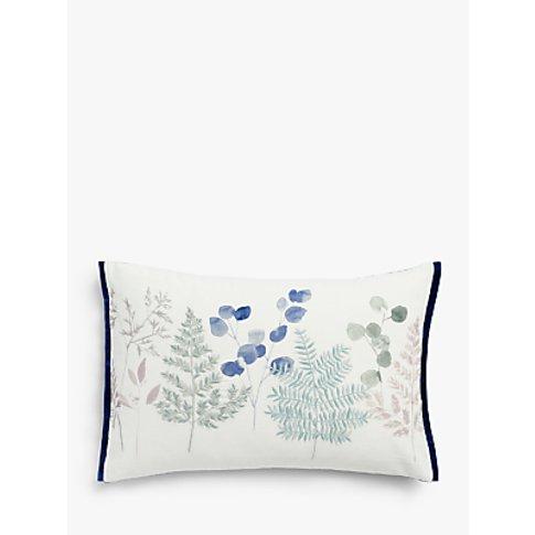 John Lewis & Partners Wisley Border Cushion, Blue / ...