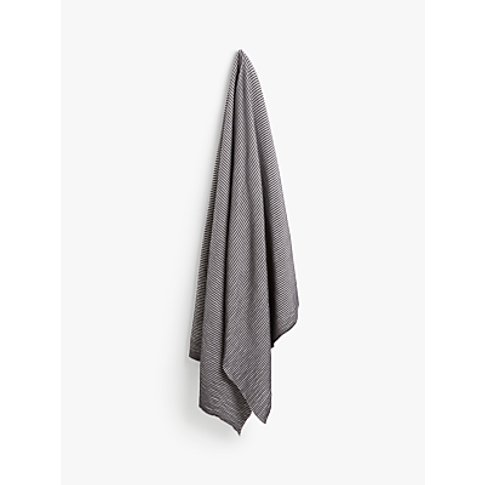 John Lewis & Partners Rib Knit Throw