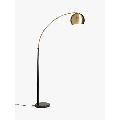 John Lewis & Partners Hector Floor Lamp, Antique Brass