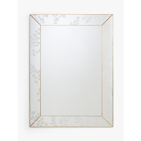 John Lewis & Partners Everdene Etched Mirror, 90 X 6...