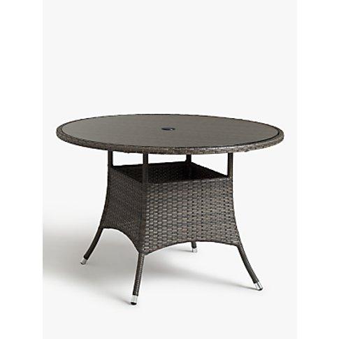 John Lewis & Partners Alora 4-Seater Garden Dining T...