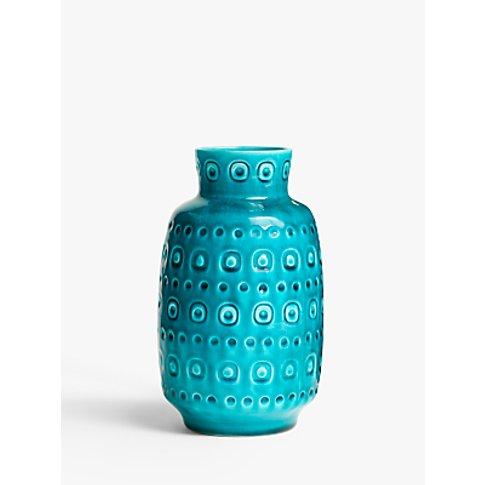 John Lewis & Partners Copenhagen Vase, Kingfisher Bl...