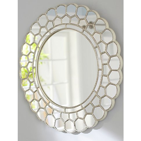 Pottery Barn Kids Circle Blossom Mirror, 73.6 x 74.9...