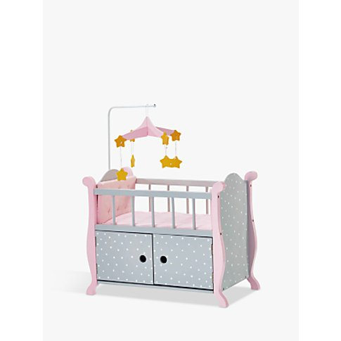 Olivia's Little World Baby Doll Nursery Bed