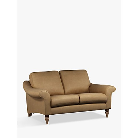 John Lewis & Partners Camber Small 2 Seater Leather ...