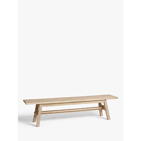 Croft Collection Burford Garden Dining Table Bench, ...