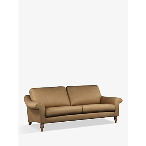 John Lewis & Partners Camber Grand 4 Seater Leather ...